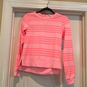 Lululemon zip back pullover